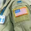 USA Flag on Military Person | Airforce Psychology | Careers in Psychology