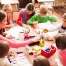 Children in elementary school