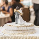 top cake in a wedding cake