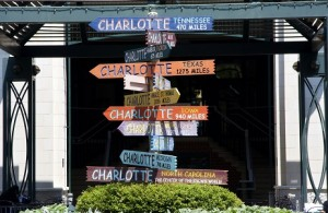 Charlotte Signs on The Green in Uptown