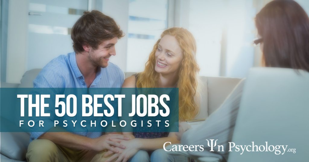 50 Best Psychology Jobs