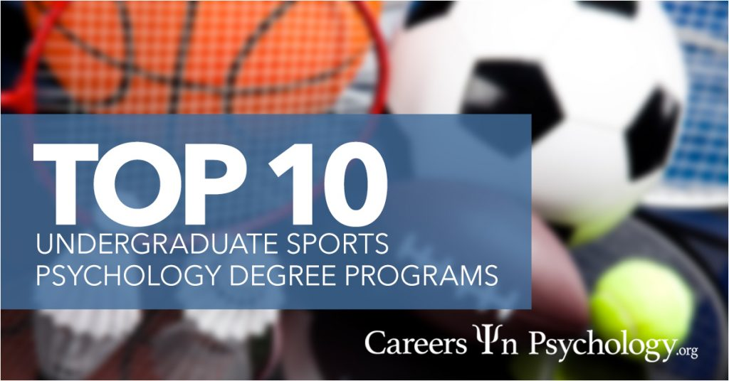 top 10 undergraduate sport psychology degree programs, Human Body